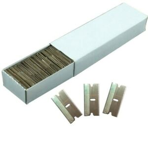 100pc Razor Blades Extra Sharp Single Edge