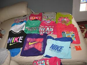 NIKE Young or Youth Girl's Long Sleeve T-Shirts Cotton blend All Sizes