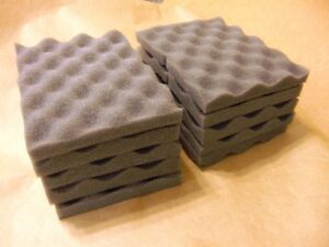 LOT OF 10 soft recycled foam packing sheet pad protection flexible shipping 6x8 $12.99
