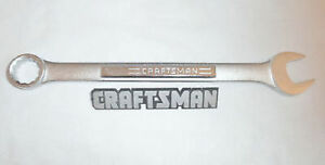 Craftsman SAE 12pt Combination Wrench Standard Open Box Wrenches Hand Tools $13.99