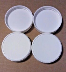 Replacement Water Bottle Caps 3 amp; 5 Gallon Screw On 53mm 2.1 8quot; Bag of 4 HD USA
