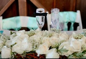 Custom Wedding Champagne Glasses Can Be Personalized! *** Bride And Groom