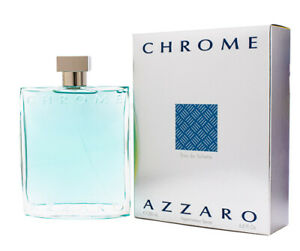 Chrome by Azzaro 6.7  6.8 oz EDT Cologne for Men New In Box
