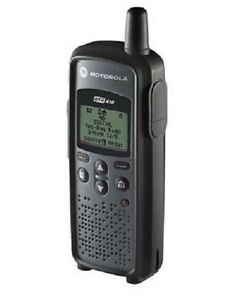 5 New Motorola 900 MHz DTR410 RADIOS & CHARGERS & HOLSTERS   SUPERIOR COVERAGE