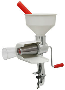 NEW VKP FOOD STRAINER, 4 SCREENS, Electric MOTOR, Tomato Apple Sauce VKP250
