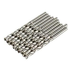 10 PCS 4mm Micro Straight  HSS Twist Drilling Auger bit for Electrical Drill New