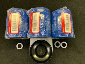 3 GENUINE HONDA OIL FILTERS WITH 1 WRENCH AND DRAIN PLUG GASKETS 15400 PLM A02
