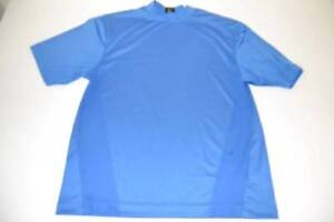 NIKE GOLF BLUE DRY FIT SHIRT MENS SIZE MEDIUM M $19.00