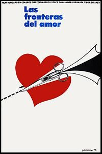 High Quality POSTER on Paper or Canvas.Movie Art Decor.Love Frontiers.Heart.4449