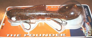 15quot; Super Magnum Bull Dawg Pounder Musky Innovations Walleye Plastic Body