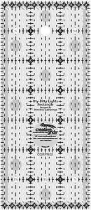 Creative Grids 3quot; x 7quot; Itty Bitty Eights Rectangle Sewing and Quilting Ruler $17.99