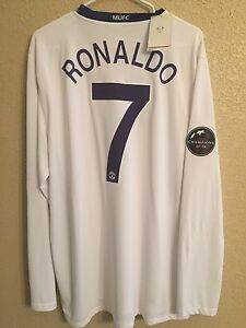 Manchester United Cr 7 Ronaldo Real Madrid Football Nike Official Shirt Jersey