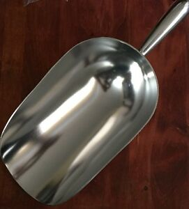 NEW 85 Oz. (Ounce) Bar Ice Machine Scoop Metal Aluminum NEW LARGE