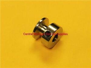 SEWING MACHINE MOTOR PULLEY STEEL 1 4quot; HOLE 6.3 MM FITS MANY $6.99