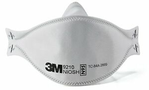 3M Flat Foldable N95 FFP2 Mask 9210 Individually Sealed NIOSH Approved  10-Pack