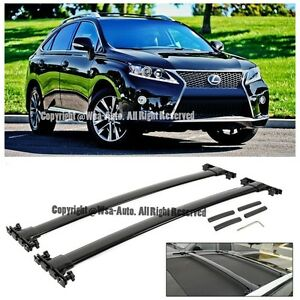 For 10-Up Lexus RX350 RX450h Aluminum Top Roof Rack Cross Bar Luggage Carrier