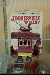 toonerville trolley cast iron fontaine fox