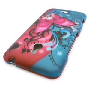 CoverON® for Nokia Lumia 1320 Case Hard Slim Phone Cover Butterfly Bliss