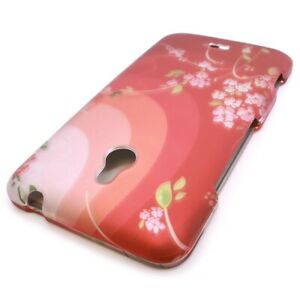 CoverON® for Nokia Lumia 1320 Case Hard Slim Phone Cover Red Flower Blossom