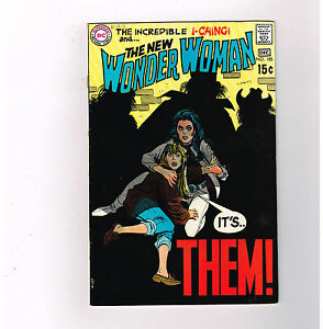 WONDER WOMAN (v1) #185 Grade 8.0 Silver Age DC find featuring I-Ching!