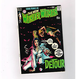 WONDER WOMAN (v1) #190 Grade 8.0 Bronze Age DC featuring I-Ching