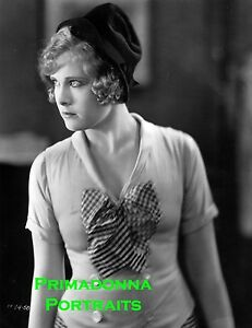 ESTHER RALSTON 8X10 Photo 1920's B&W Silent Era Movie Still Beauty Portrait