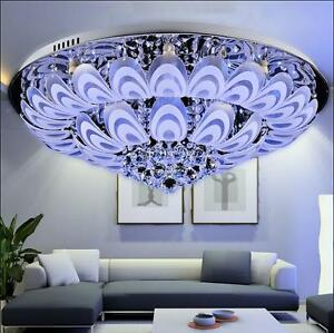 LED Crystal Light Ceiling modern and simple European-style living room lamp #197