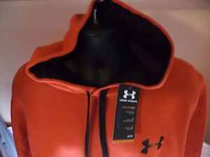 Under Armour Men Storm Armour Fleece Size S 2XL Game Time Small Logo Hoodie $34.49