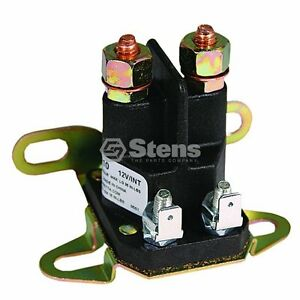 NEW Starter Solenoid 4 Prong for Craftsman 145673 146154 Lawn Mower