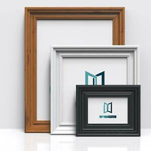 Photo Picture Poster Frame Modern Wide Gloss Finish Molding Large Frames A4 A3 GBP 13.97