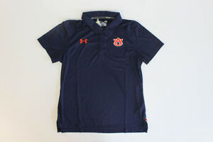 NEW Under Armour Auburn Tigers - Blue Polo Shirt Women's(M) 4 Charity
