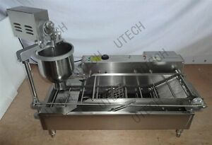 New CE approved Commercial Automatic donut fryermaker making machine3 Set Mold
