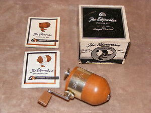 Vintage Good-All Sporting Goods The Edgewater Spinning Fishing Reel FREE SHIP