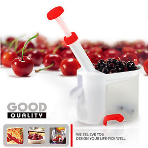 Deluxe Cherry Pitter Corer Olive Stoner Remover Suction Base Smart Kitchen Tool