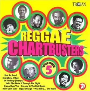 VARIOUS ARTISTS - REGGAE CHARTBUSTERS, VOL. 5 NEW CD