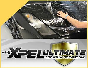 XPEL Ultimate Paint Protection Clear Bra - Protects Car Paint From Scratches USA