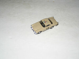 t jets ho scale tan maserati slot car