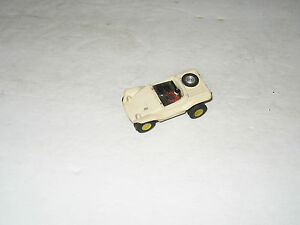 t jets ho scale dune buggy white slot car