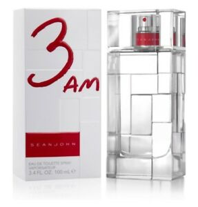 3AM by 3 AM Sean John 3.4 oz 3.3 edt Men Cologne New in Box $18.22