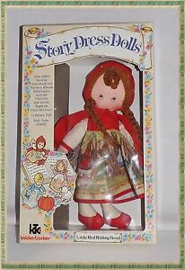 1977 vintage knickerbocker story dress dolls