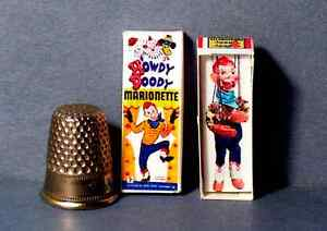 dollhouse miniature howdy doody marionette
