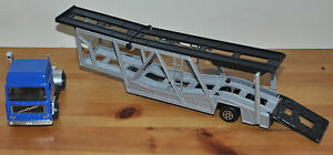 majorette volvo car transporter truck made