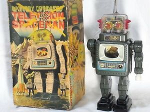 alps toy made in japan rare tin toy robot