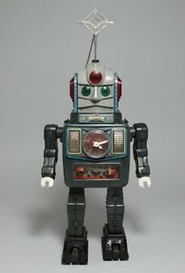 tin toy alps shoji bandai 1950s electric tin