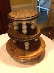 Golf Snack Stand Wedding Cake Stand Cupcake Tray Grooms Cake Stand Golfers