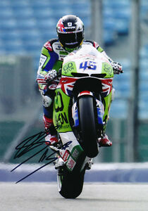 Scott Redding Signed 8X12 Inches GO&FUN Honda Gresini 2014 MotoGP Photo