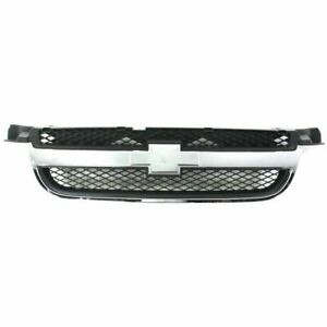 New Grill Assembly Chrome Shell Textured Black For Chevrolet Aveo 2007 2011