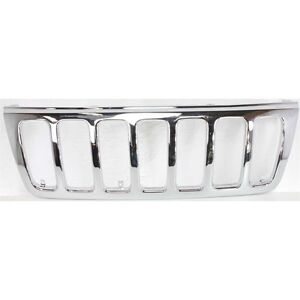 New Grill Assembly Chrome For Jeep Grand Cherokee 1999 2003