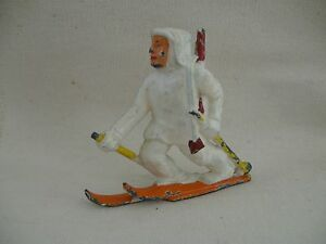 finn skier toy lead soldier