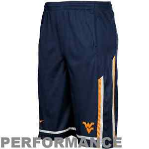West Virginia Mountaineers Nike Youth Dri-Fit Basketball Shorts - Navy - XL